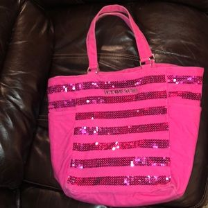 Victoria's Secret Pink tote bag!
